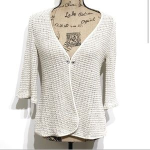 Henry & Y Couture Midi Sleeve Knit Cardigan